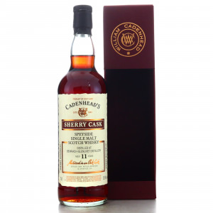 Benriach 2008 Cadenhead's 11 Year Old Sherry Cask
