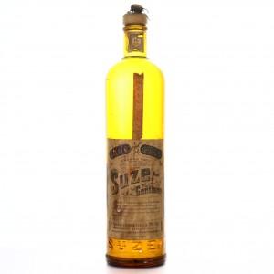 Pernod Suze a la Gentiane 1 Litre 1950s / Carpano Import