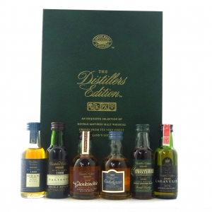 Distiller's Edition Classic Malts Miniature Selection 6 x 5cl / First Releases Including Lagavulin 1979