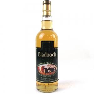 Bladnoch 10 Year Old Sheep Label / Cask Strength
