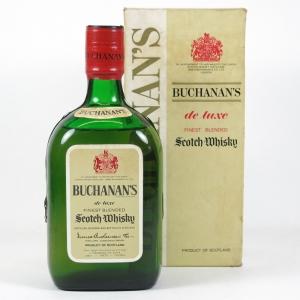 Buchanan's De Luxe 1960/1970s Front