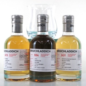 Bruichladdich Micro Provenance Tasting #7 3 x 20cl / With Laddie Dram Glass