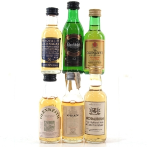 Highland & Speyside Miniature Selection 6 x 5cl