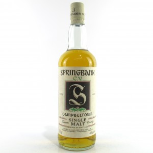 Springbank CV Green Thistle 75cl / US Import