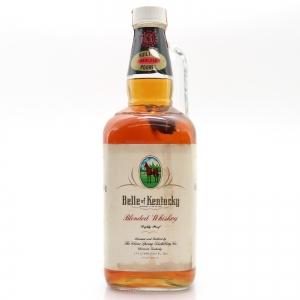 Belle Of Kentucky Blended Whiskey 1.75 Litres 1980s
