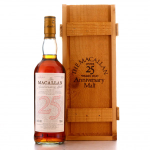 Macallan 25 Year Old Anniversary Malt 75cl early 2000s / US Import