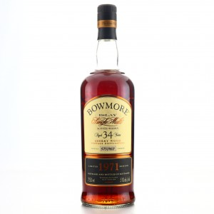 Bowmore 1971 Sherry Wood 34 Year Old 75cl / US Import