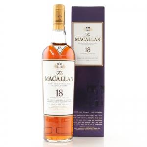 Macallan 1995 18 Year Old