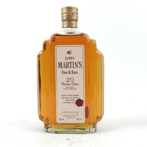 James Martin 20 Year Old Fine and Rare