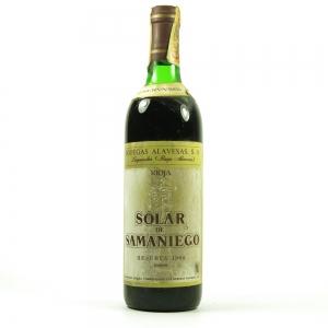 Bodegas Alavesas Rioja Solar de Samaniego Reserva 1968