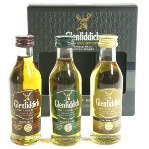 Glenfiddich Cask Collection 3 x 5cl
