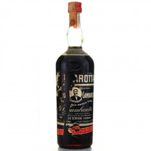 Gambarotta Amaro 1 Litre 1960s