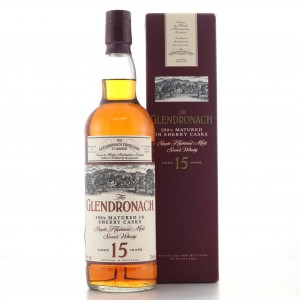 Glendronach 15 Year Old Sherry Casks