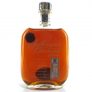 Jefferson's Presidential Select 21 Year Old