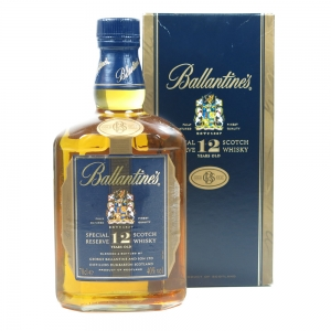 Ballantines 12 Year Old Special Reserve Front