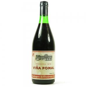 Bodegas Bilbainas Vina Pomal Crianza, Rioja DOCa 1976