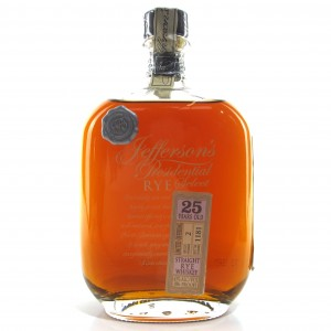 Jefferson's Presidential Select 25 Year Old Straight Rye