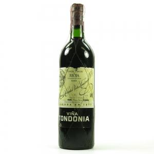 R. Lopez de Heredia Vina Tondonia Reserva, Rioja DOCa 1989