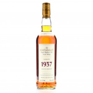 Macallan 1937 Fine and Rare 32 Year Old