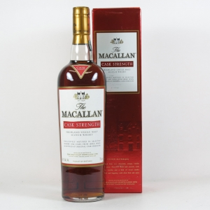 Macallan Cask Strength (US Import) 75cl Front