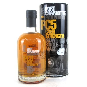 Port Charlotte 2001 Cask Strength 5 Year Old PC5