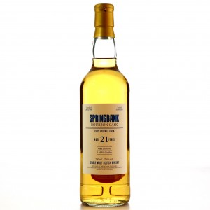 Springbank 1995 Private Cask 21 Year Old