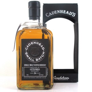 Littlemill 1990 Cadenhead's 24 Year Old
