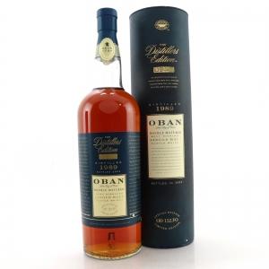 Oban 1989 Distillers Edition 2003 1 Litre