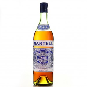 Martell Three Star Cognac 1960s