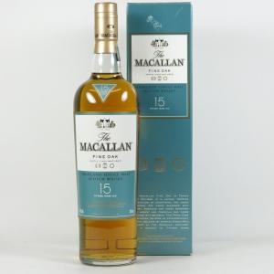 Macallan 15 Year Old Fine Oak Front