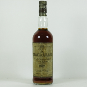 Macallan 1967 18 Year Old Front
