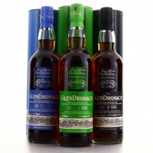 Glendronach Danish Retail Exclusives 3 x 70cl