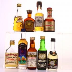 Liqueur Miniatures x 9