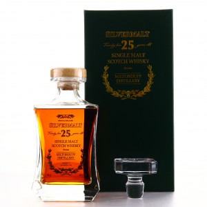 Miltonduff 25 Year Old Silvermalt Decanter
