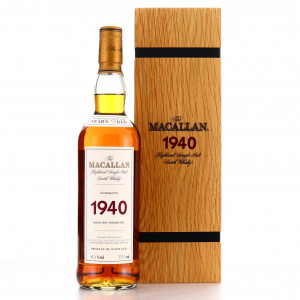 Macallan 1940 Fine and Rare 35 Year Old