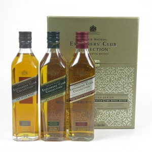 Johnnie Walker Explorer's Club Collection 3 x 20cl Front