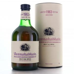 Bunnahabhain 1963 Single Cask 40 Year Old