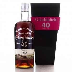 Glenfiddich 1964 Silver Seal 40 Year Old