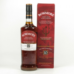 Bowmore Devil's Cask 10 Year Old Batch #2 US Import 75cl