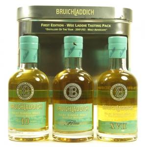Bruichladdich First Editon Wee Laddie Tasting Pack 3 x 20cl