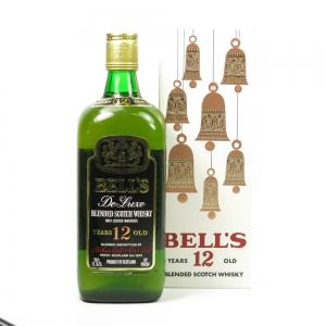 Bell's De Luxe 12 Year Old 1970s