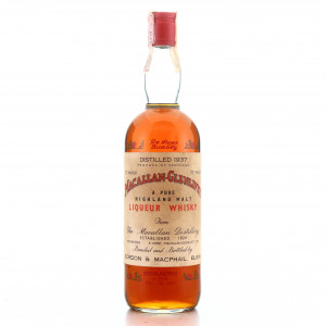 Macallan 1937 Gordon and MacPhail / Co. Pinerolo Import