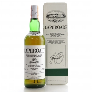 Laphroaig 10 Year Old 1980s / Spirit Import
