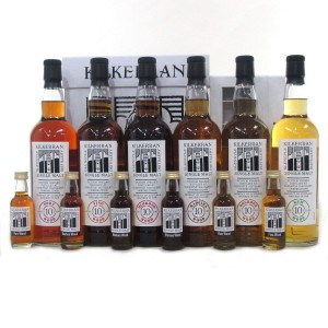 Kilkerran 10th Anniversary Collection 6 x 70cl / Including First Cask Selection Miniatures