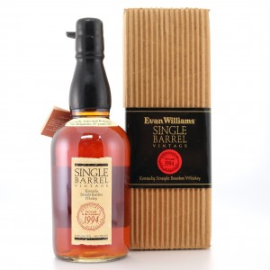 Evan Williams 1994 Single Barrel 17 Year Old / Belgian Exclusive