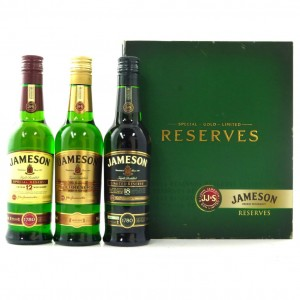Jameson Reserves 3 x 20cl