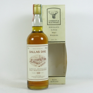 Dallas Dhu 10 Year Old Gordon and Macphail Front