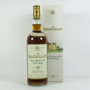 Macallan 12 Year Old 1 Litre front
