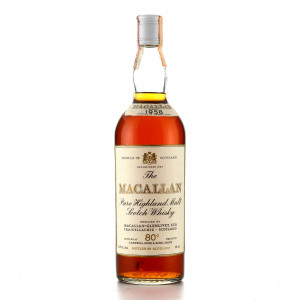 Macallan 1958 Campbell, Hope and King 80 Proof
