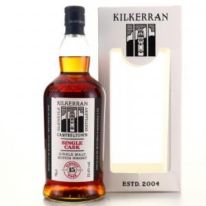Kilkerran 2004 Single Oloroso Cask 15 Year Old / 15th Anniversary